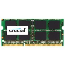 Memoria Ram 4GB So-Dimm DDR3 1600MHz Cl 11 per Mac Crucial CT4G3S160BM