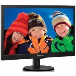 """Monitor 18,5"""" Philips 193V5LSB2/10 Vga W-Led Vesa"""