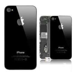 Scocca posteriore per iPhone 4 / 4G Back cover nero