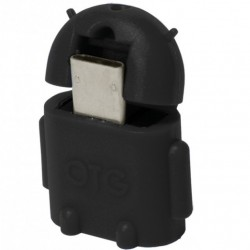 Adattatore USB 2.0 OTG Micro USB Maschio / a Usb A Femmina per Smartphone/Tablet Nero