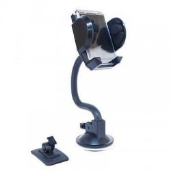 Supporto Auto Universale per Cellulari Smartphone con Cornice per Foto e tasto di apertura alette + base adesiva per cru