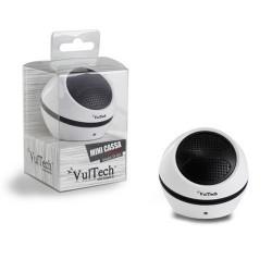 Altoparlante mini portatile speaker bianco vultech sp-205w