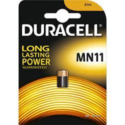 Batteria pila alcalina  6v duracell mn 11