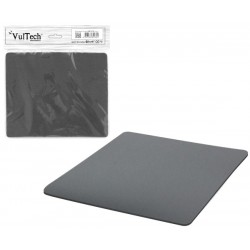 Tappetino mouse pad morbido colore grigio vultech mp-01g