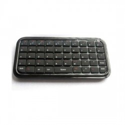 Tastiera mini Bluetooth per iPhone 4 -ipad - PC - Smartphone - PS3 nera