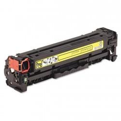 Toner compatibile HP cc532a y/crg718 giallo 2800 copie