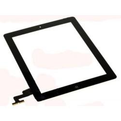 Touch screen iPad 2 nero completo di pulsante Home e bioadesivo