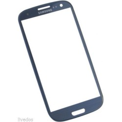Vetro Per Samsung Galaxy S3 Touch Screen I9300 Blu Display Glass