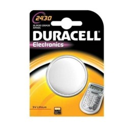 Batteria a litio bottone Duracell 2430