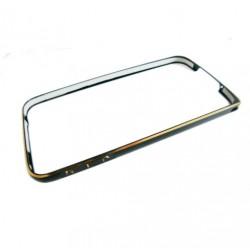 Bumper cornice in alluminio per Iphone 5 - 5S Nero