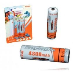 Batterie ricaricabili stilo linq confezione 2 pz
