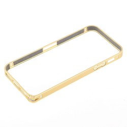 Bumper cornice in alluminio per Iphone 5 - 5S gold