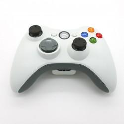Game pad controller joypad compatibile wireless XBOX 360 bianco