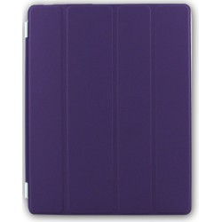 Custodia Smart Cover per Ipad 2 / 3 / 4 Viola Sottile e Leggera Giotto con Supporto