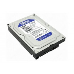 Hard Disk 3,5'' Interno Sata 1000GB 1TB Western Digital WD10EZEX Caviar Blue 64Mb 7200Rpm