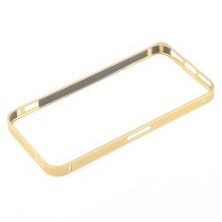 Bumper cornice in alluminio per Samsung Galaxy S6 G920 Gold