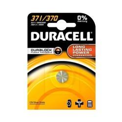 Batteria alcalina bottone Duracell 371/370 Argento-Ossido 1.5V
