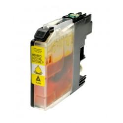 Cartuccia compatibile inkjet brother lc-123y giallo