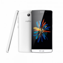 """Smartphone TP-Link Neffos C5  4G LTE 16GB white 2GB 1080p Android 5.1 A53 1.3GHz 5.0"""""""
