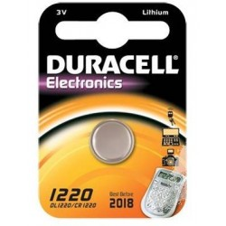 Batteria a litio bottone Duracell 1220