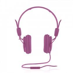 Cuffie Headphones Modecom MC-400 Fruity pink Con Microfono e Tasto di Risposta