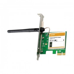 Scheda di rete pci express wireless 150mbps antenna omnidirezionale