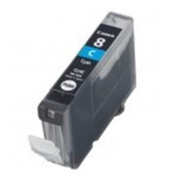 Cartuccia compatibile inkjet canon cli-8c ciano