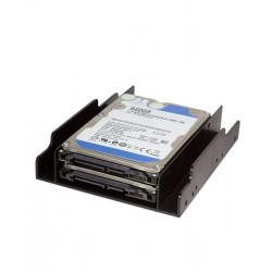 Frame Interno supporto Tecno per Montaggio di 2 hard disk 2,5'' in Alloggiamento da 3,5'' Viti incluse