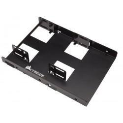 Frame Interno supporto Corsair per Montaggio 2 SSD hard disk 2,5'' in Alloggiamento da 3,5'' Viti incluse