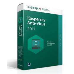 Antivirus kaspersky 2017 3 utenti  ( KL1171TBCFS-SLIM)