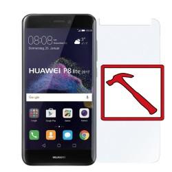 Pellicola in vetro temperato per Huawei P8 Lite 2017 antigraffio protezione parziale