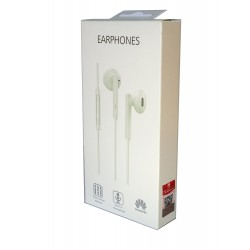 Auricolari Originali Huawei con microfono AM115 bianchi jack 3,5 mm Original pack blister