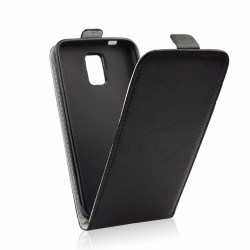 Cover Slim Flexy Kabura flip per Samsung J5 2016 J510F Chiusura a Portafogli nero