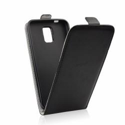 Cover Slim Flexy Kabura flip per Samsung J3 2017 J3110 (Pro Plus)  Chiusura a Portafogli nero