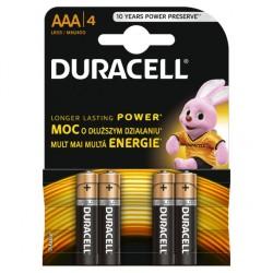 Batterie Duracell mini stilo AAA CONF. 4 PZ.