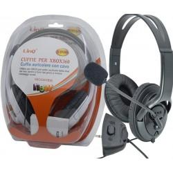 Cuffie auricolari con Microfono per Console Xbox 360