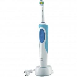 Spazzolino da denti elettrico Oral-B Vitality White & Clean - Adulto - rotante-oscillante - Blu, Bianco