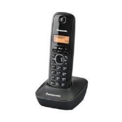 Telefono Cordless Panasonic Display LCD retroilluminato da 1.2 inch - Suono nitido - Rubrica 50 num. - 6 suonerie polifo