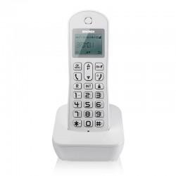 Telefono Cordless Brondi Mariot con vivavoce, rubrica ident. chiamante bianco