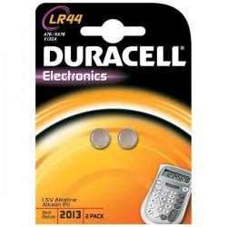 Batteria alcalina bottone Duracell lr44 conf. 2pz