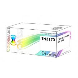 Toner compatibile Brother nero TN3170 TN3180 Tn3280 stampa 7000 pagine 210 grammi