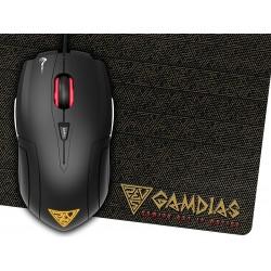 Mouse gaming Usb Gamdias Demeter-E1 3200dpi e MousePad
