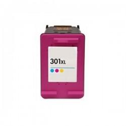 Cartuccia rigenerata compatibile Inkjet  HP 301xlc Tricomia colore