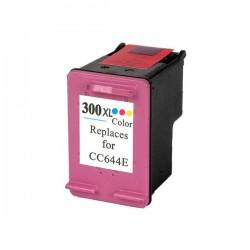 Cartuccia rigenerata compatibile inkjet hp 300xl c (cc644e) color