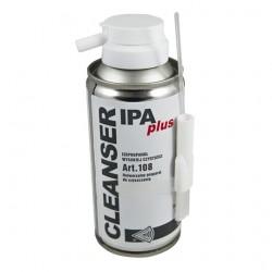 Detergente liquido con spruzzino e pennello pulisci contatti Cleanser Ipa plus art. 108 isopropanolo 150 ML