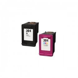 Cartuccia rigenerata compatibile inkjet HP 304  (N9K08A) nero