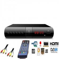 Decoder Digitale Terrestre  Full HD DVB-T2 Hdmi Scart Usb 2.00