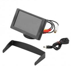 """Monitor 4,3"""" pollici lcd tft  per telecamera  retromarcia a colori per auto & camper ecc."""