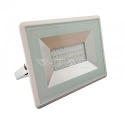 Faretto Faro led 10w watt da esterni colore bianco luce bianca naturale slim ip65 giardino