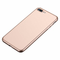 Cover semi-rigida gold per Samsung A5 2018
